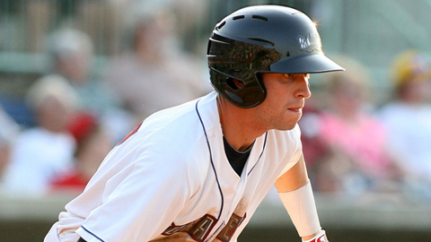 Tyler Naquin was selected 15th overall by Cleveland earlier this month.